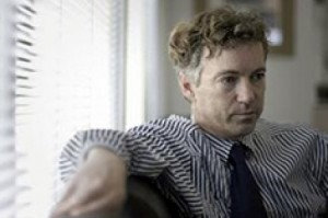 Could girly-man Rand Paul help Harry Reid win his Senate seat?
