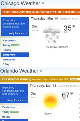 Mr. Weatherford, THIS is the reason people move from Illinois to Florida. Trust me, I know!